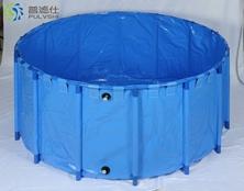 普滤仕胶膜折叠鱼盆1.2m X 高1m